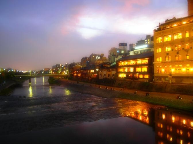 Kyoto After Sunset: Nishiki Market, Pontocho, Kamogawa River